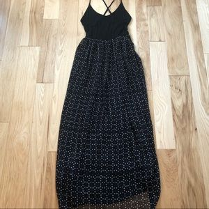 Urban Outfitters Ecote Cross Strap Maxi Dress